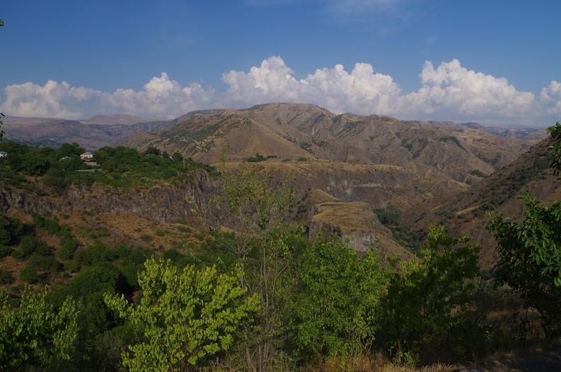 Malebná Arménska horská krajina