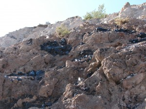Bohaté náleziská obsidiánu severne od Jerevanu